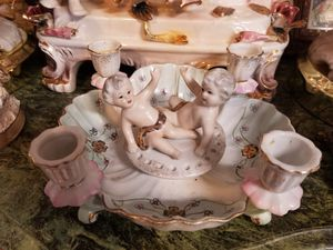 Antique porcelain candles holders for Sale in Miami, FL