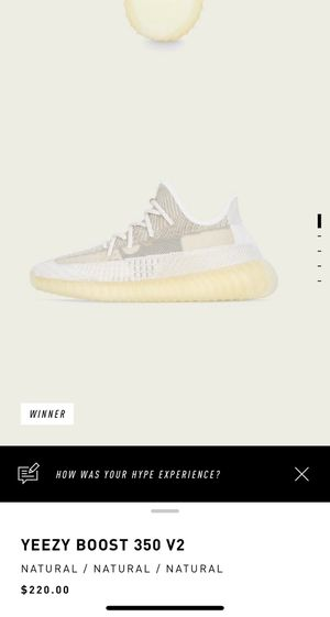 Yeezy Boost 350 V2 Natural for Sale in Upland, CA
