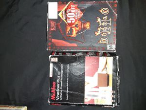 Diablo 2 PC game + McAfee 07 virus protection for Sale in Alexandria, VA