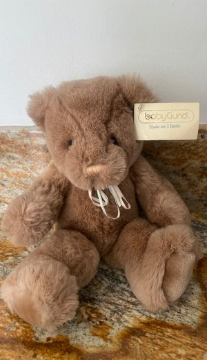 Gund Baby BUNKY bear stuffed animal with original tags for Sale in Arcadia, CA