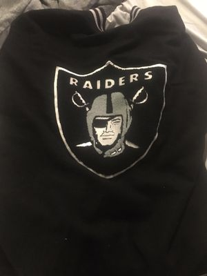 Warm up with ur Team 2xL Raiders for Sale in Sioux City, IA