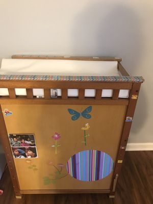 Changing table with side drawers for Sale in Charlotte, NC