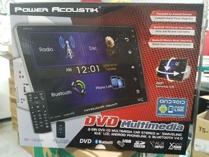 """NEW!!! Power Acoustik double din DVD stereo with 10.6"""" Screen for Sale in Phoenix, AZ"""
