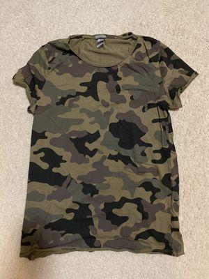 H&M Camo Shirt for Sale in Renton, WA