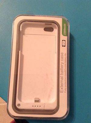 External Battery cas iphone 5 for Sale in Burke, VA