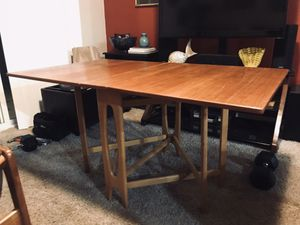 Vintage MId Century Danish Modern Teak Dining Table by Bendt Winge for Sale in Olympia, WA