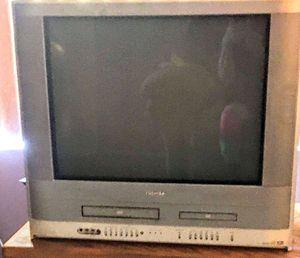 Toshiba VCR/DVD Big Tube TV for Sale in Phoenix, AZ