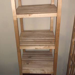 Beautiful Bamboo Open Shelving! Like New! for Sale in San Diego, CA