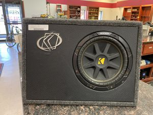 "Kicker 10"" subwoofer for Sale in Austin, TX"