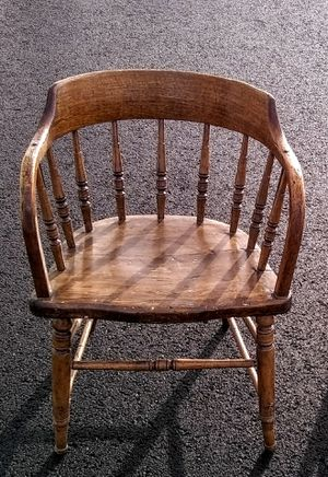 A Pair of Antique Captains Chairs for Sale in Spokane, WA
