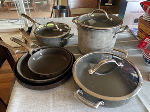 9 piece Kirkland brand cookware for Sale in Manson, WA
