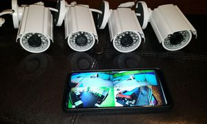 Security cameras System+labor- Hablo Espanol for Sale in Fort Worth, TX