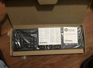 New HP Keyboards USB Slim KB Win 8 10 US Model KBAR211 Computer New, 803181-001 for Sale in Palo Alto, CA