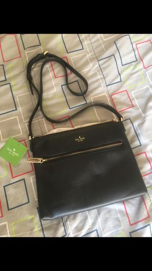 Kate Spade Black and Gold Cross-Body Bag for Sale in Inglewood, CA
