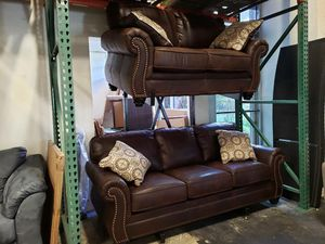 New Ashley furniture 2pc set sofa and loveseat tax included free delivery for Sale in Hayward, CA