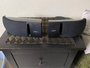 Bose 161 Speaker System Left and Right Speakers Black Bookshelf for Sale in San Diego, CA