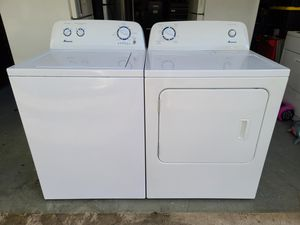 Amana matching washer and dryer set <delivery available> for Sale in Tacoma, WA