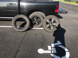 Spare rim and tire + spare tire for Sale in Gahanna, OH