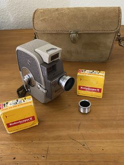 Film Tested Keystone Twenty Double 8mm Film Movie Camera for Sale in Arlington,  TX