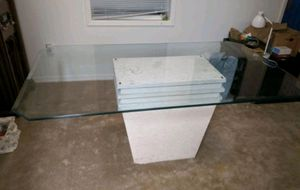 Glass top table for Sale in Lutz, FL