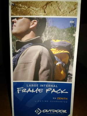 Backpacking/Hiking Backpack for Sale in Beaumont, CA