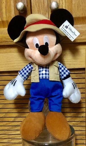 Disney Mickey Mouse Plush , Camper Fisherman for Sale in Santa Fe Springs, CA