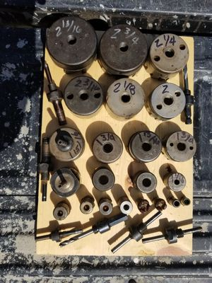 Heavy duty hole saws for Sale in El Cajon, CA