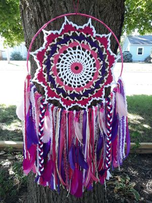 League of Legends Star Guardian Ahri Inspired Doily Dreamcatcher for Sale in Holland, OH