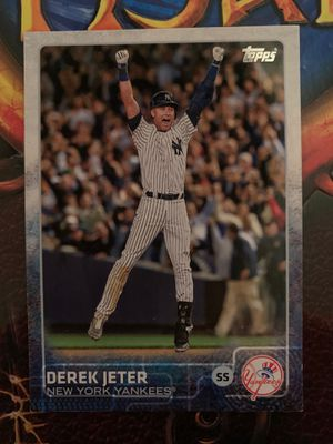 Derek Jeter 2015 Final Game Baseball Card!!!! for Sale in Fuquay-Varina, NC