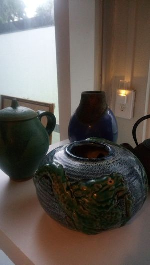 4 antique pieces 2teapots ,1 dragon pa for Sale in Lake Worth, FL