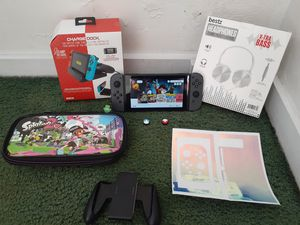 Nintendo switch with more than 27 games etc for Sale in Santa Ana, CA