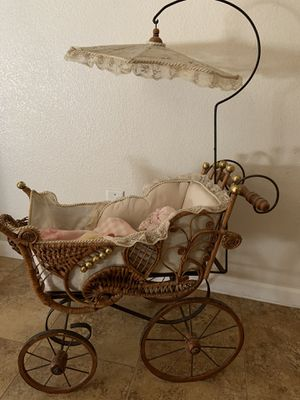 Antique doll carriage for Sale in Moapa, NV