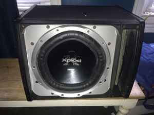 "12"" Sony xplod 1300 watt subwoofer for Sale in The Bronx, NY"