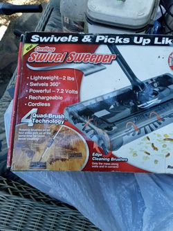 New Cordless Swivel Sweeper for Sale in Riverside,  CA