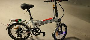 Ancheer Folding Electric Bike 20'' + Free Lock for Sale in Miami, FL