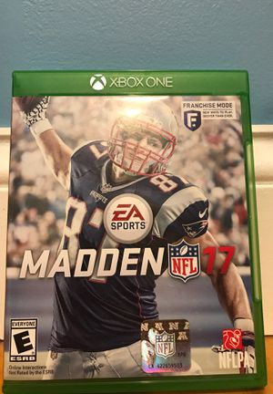 Madden 17 for Xbox One for Sale in New Britain, CT