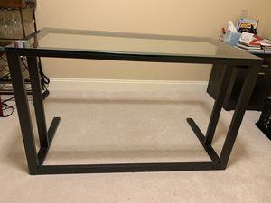 Crate and Barrel Pilsen Graphite Desk for Sale in Seattle, WA