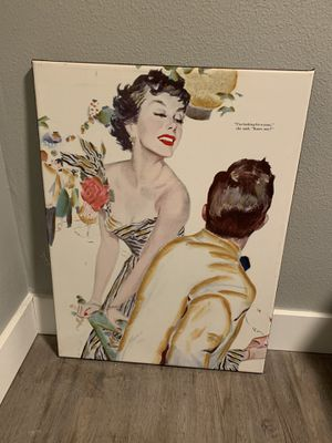 Vintage style canvas art for Sale in Vancouver, WA