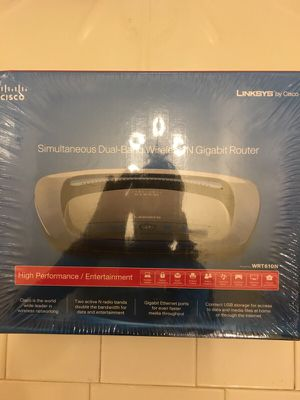 Simultaneous Dual-Band Wireless-N Gigabit Router for Sale in Sterling, VA