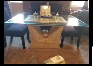 STYLISH DINING TABLE & CHAIRS for Sale in Greensboro, NC
