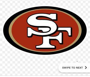 49ers Vs Panthers 10/27 for Sale in Santa Clara, CA
