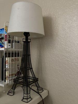 Eiffel Tower lamp for Sale in Pomona, CA