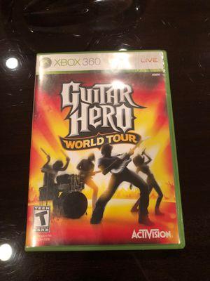 Guitar hero world tour Xbox 360 game for Sale in Dallas, TX