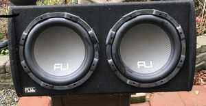 """Fli 2000 watt 12"""" speakers Untested firm on price for Sale in Tacoma, WA"""