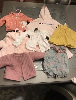 Baby clothes and teddy bears for Sale in Fall River, MA