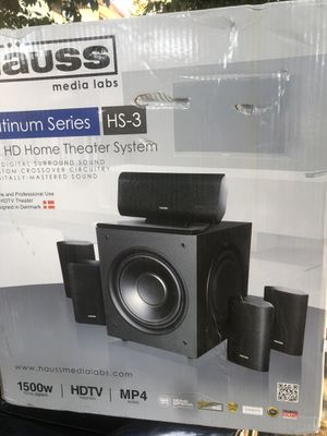Brand new home theater system for Sale in San Jose, CA