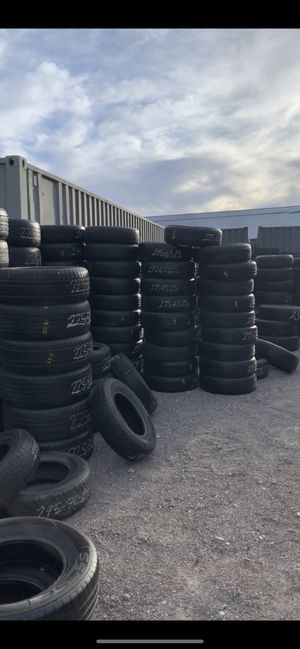 Used tires in most sizes ! We got more tires everyday for Sale in Las Vegas, NV