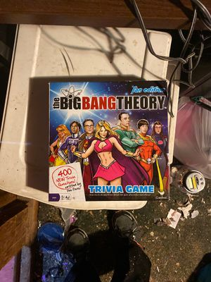 The big bang theory fan edition game for Sale in Bedford Heights, OH