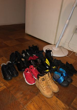 11 Pairs Of Toddler Shoes 2 Pairs Of Boys Slippers. Size 7,8,9,10 30$ each pair for Sale in Lanham, MD