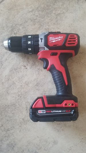 New Milwaukee 18-Volt Lithium-Ion 1/2 in. Hammer Drill (2607-20) for Sale in Hemet, CA